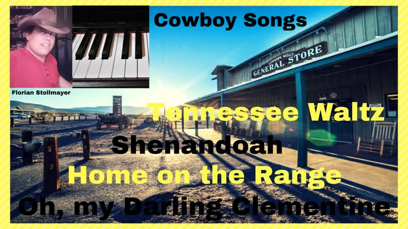 Classical Country favorites on the Piano (Tennessee Waltz, Shenandoah, Home on the Range, Oh, my Darling Clementine)