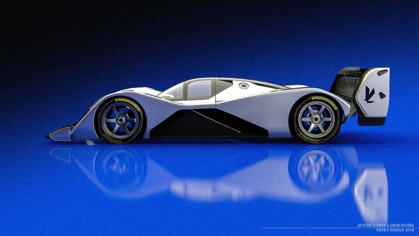 Проект Avions Voisin Laboratoire Group C Hommage, автор: Игорь Шитиков Концепт гоночного автомобиля возрождённой группы C