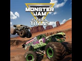 Monster jam steel titans - monster jam university (first gameplay)