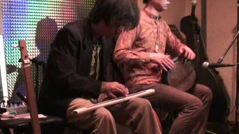 Ribbon Controller(DIY synth instrument) and Darbuka Rumeli Karsilama by Y.Onoue Y.Hisada