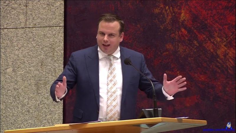 Alexander Kops(PVV) Wij dokken voor Afrika - Klimaatwet Debat 19-12-2018 - YouTube
