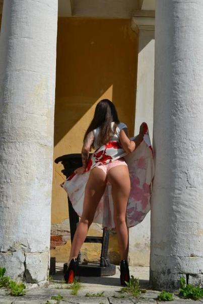 Nude in extacy