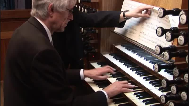 552 J. S. Bach - Prelude and Fugue in E-flat major, BWV 552 (St Anne) from Clavier-Übung III - Ernst-Erich Stender