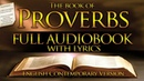 Holy Bible Audio: PROVERBS 1 to 31 - With Lyrics (Contemporary English)