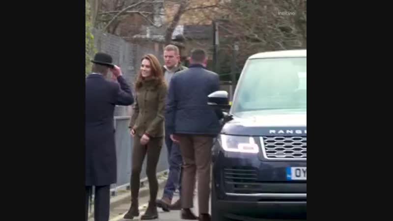 King Henry's Walk Garden в Ислингтоне, Лондон, 15 января 🌸