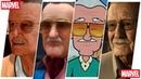 Stan Lee Evolution in Cartoons Games R.I.P. 1922-2018