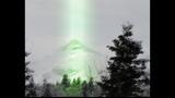 В Альпах зеленый свет с неба сканировал землюдед показал видео 2007 армада нло