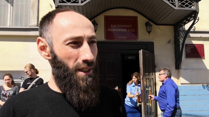 Рашид Шидаков, участник голодовки в поддержку Шестуна