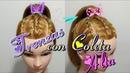 Peinado con Trenza y Coleta Alta by Belleza sin Limites