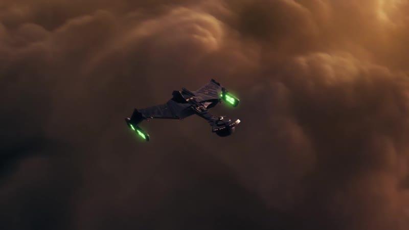 Klingon flyby test (version 2)