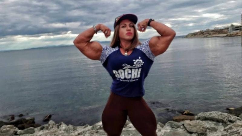 Steroide Ja, klar! Diese Russin hat 71-Zentimeter-Schenkel!