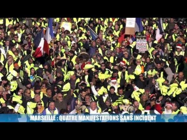 Manifestations à Marseille : gilets jaunes, CGT et collectifs Noailles rassemblés ce samedi