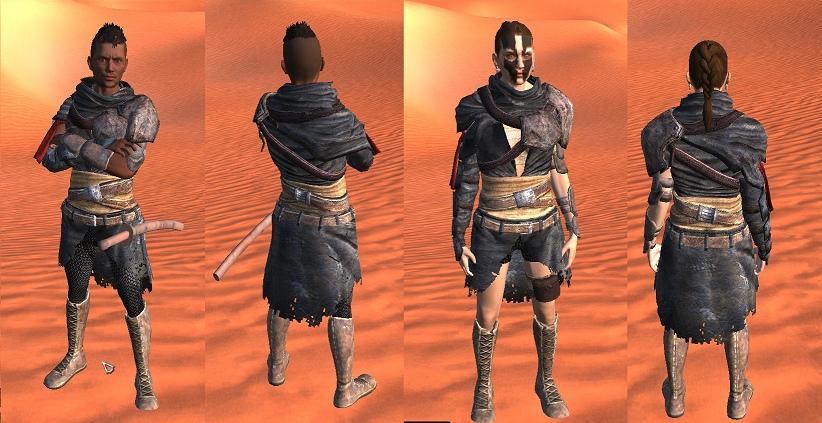 Новая лоскутная броня и противогазы [RU] / Patchwork Armour [RU]