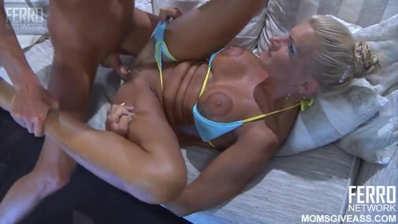 Ferro Network Hannah - Moms Give Ass (mature, MILF, BBW, мамки - порно со зрелыми женщинами)_480p
