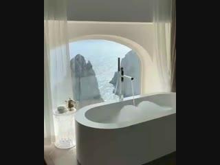 Хотели бы себе такой вид из ванной?