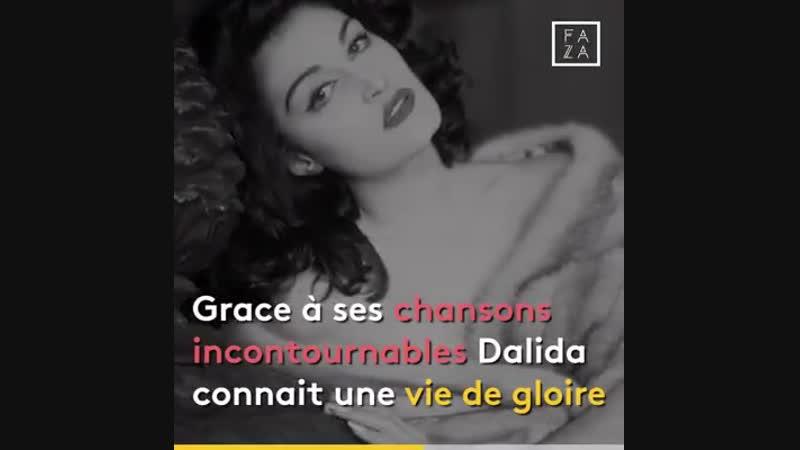 Elle aurait eu 86 ans aujourd'hui Dalida est l'une des plus grandes chanteuses les plus connues dans le monde Une véritable i