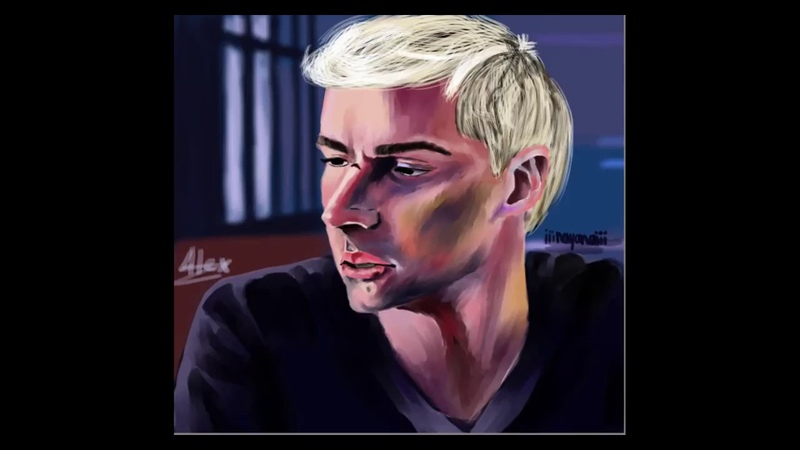 Speedpaint ~ Alex ~ 13 reasons why ~ Алекс ~ 13 причин почему ~ Майлс Хейзер ~ Майлс Хейзер