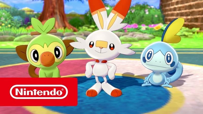 Pokémon Sword и Pokémon Shield — Добро пожаловать в регион Галар! (Nintendo Switch)
