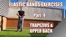 🇬🇧🔵100 RESISTANCE BANDS EXERCISES PART 4 TRAPS UPPER BACK