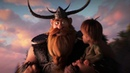 How to Train Your Dragon The Hidden World Hiccup and Stoick the Vast Clip