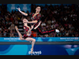 Youth Olympic Games 2018 - Acrobatic Gymnastics - Mixed Pair - Final - Belarus