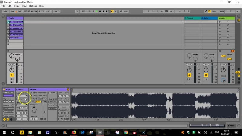 Tutorial - DJing with Ableton Live and Push - Part 6 - Clip Launch Properties