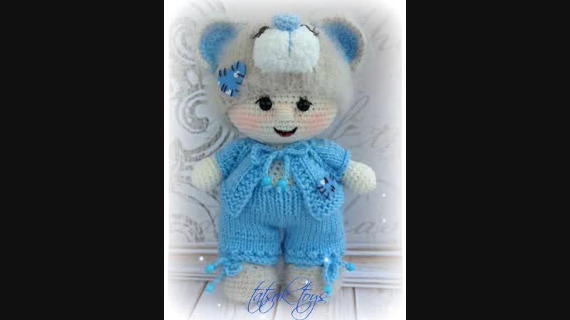 Пупс в костюме мишки Тедди
