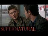 Дин встречает молодого отца(Джона) в прошлом Supernatural 4x03