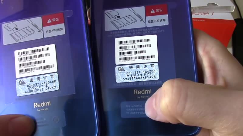 Отличий в чехлах_стеклах нет. Xiaomi Redmi Note 7 Pro vs Note 7 4_64 vs 6_64 Antutu
