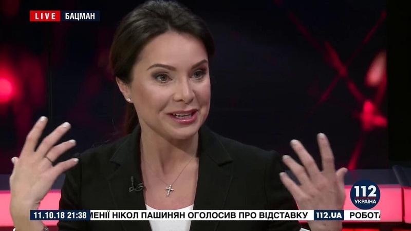 Лилия Подкопаева в программе БАЦМАН (2018)