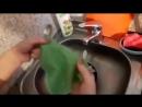 Cалфетка для мытья посуды из микроволокна