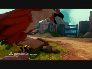 Falcon Age - Gameplay Trailer PS4, PS VR