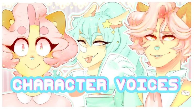 GhostfaceNikol's Character Voices (Cream Puff, Cream Pie, Peach etc)