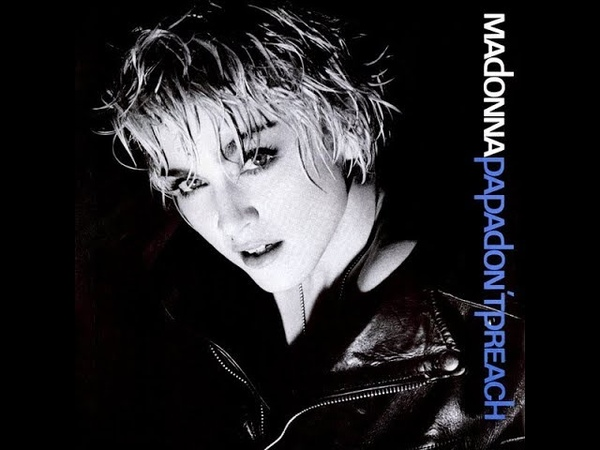 Madonna - Papa Don't Preach (Extended Remix) 12 Inch Vinyl 1986