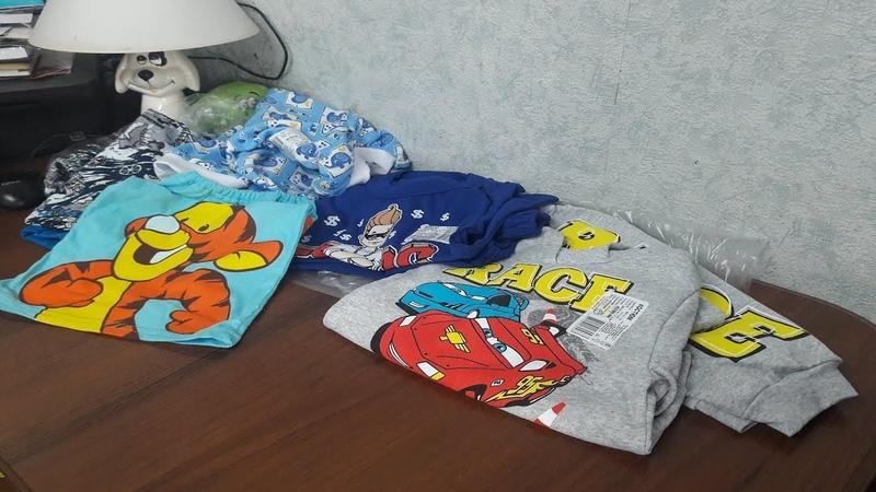 Сюрприз 2. Еще подарки на День Рождение для племянника: много разной одежды.