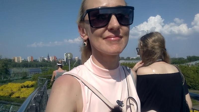 Варшава: ботанический парк на крыше библиотеки. Стоит посетить!?