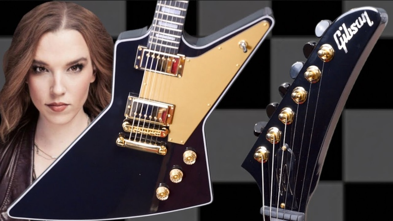 Lzzy Hales New Explorer - Worth the Price | 2019 Gibson Signature Dark Explorer | Review Demo