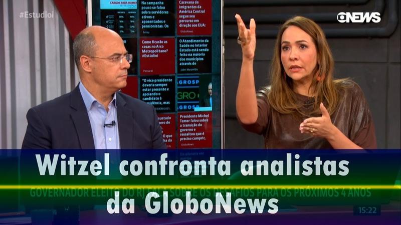 Globo cidadão de fuzil que não apresenta ameaça