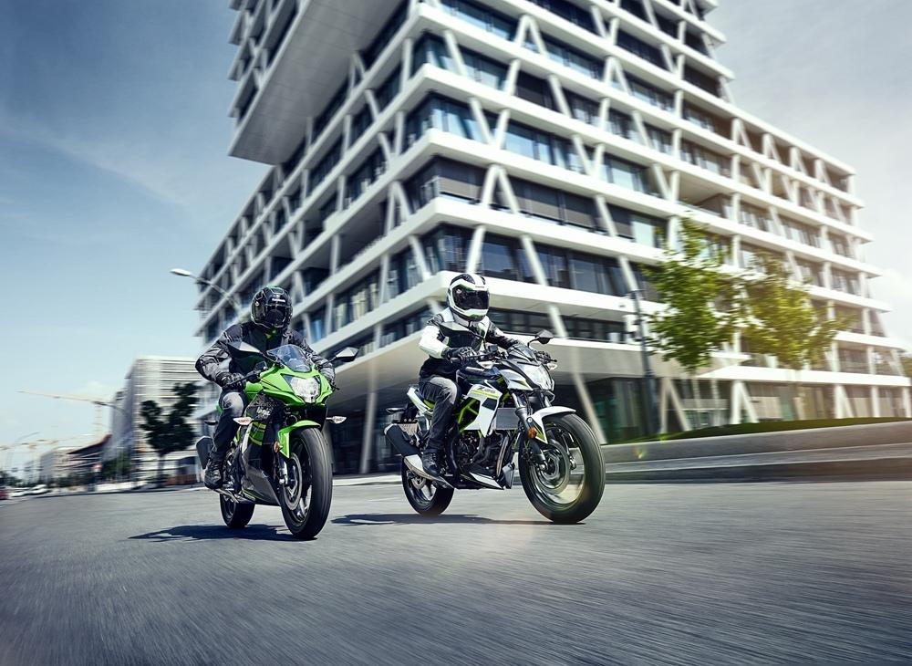 Мотоциклы Kawasaki Ninja 125 / Z125 2019