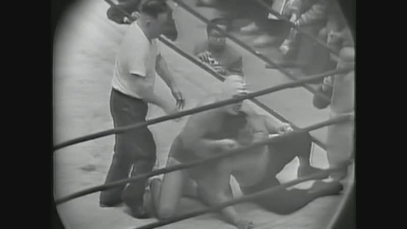 Рикидозан против Разрушителя JWA 1963.12.02 матч 2 из 3 за титул межконтинентального чемпиона в тяжёлом весе NWA