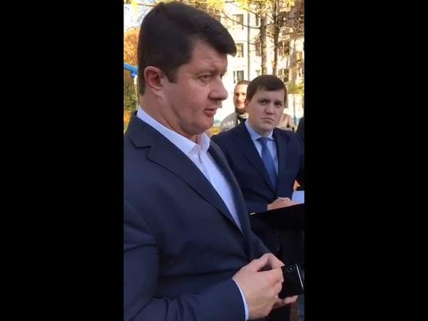 Владимир Слепцов посетил Ржавки