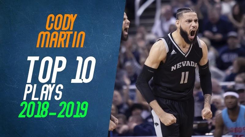 Cody Martin Top 10 Plays from 2018-2019 NCAA Season