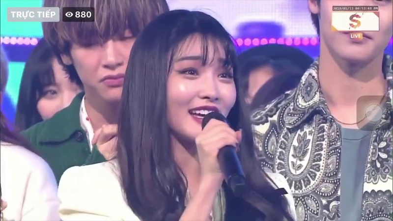 190113 CHUNG HA (청하) -벌써_12시- GOTTA GO Show Inkigayo win Encore