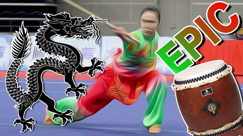 SOUS L'AILE DU DRAGON Music by Olivier Hecho Epic Wushu
