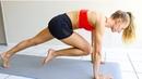 Madie Lymburner Full Body Fat Burning HIIT WORKOUT At Home No Equipment Интервальная ВИИТ тренировка для сжигания жира средней интенсивности
