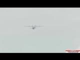 LM-100J Super Hercules Goes Inverted at Farnborough 2018