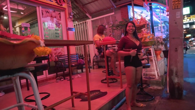 Pattaya bars girls nightlife 2018 with subtitles