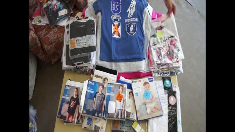 KIDS T-SHIRTS NEW!Детские футболки,мешки 11-13 кг,стоимость 1 кг=1400 руб, с/с~130-135 рублей!