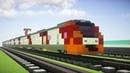 Minecraft Lastochka Russian Siemens Desiro Train Tutorial