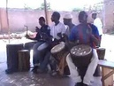 Mali Djembe Music: Old Grand Masters Aruna and Brulye play djembe